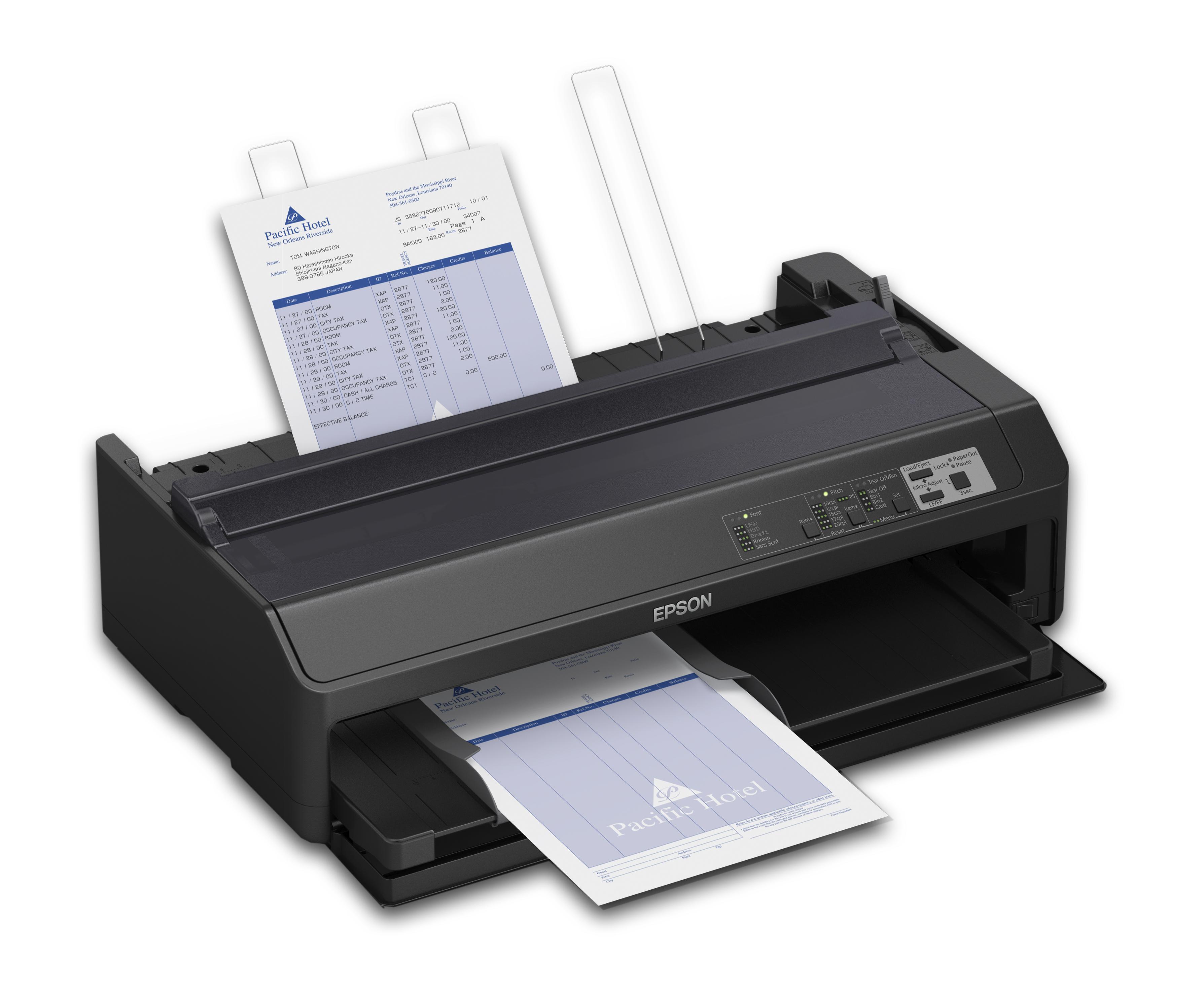 Epson lanza veloces impresoras de matriz de punto para - Impresoras para oficina ...